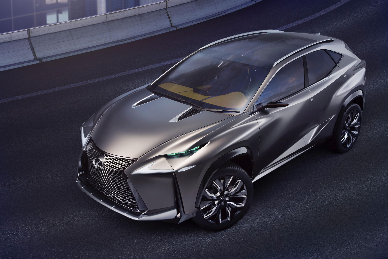 Lexus LF NX Concept - The Intelligent Driver
