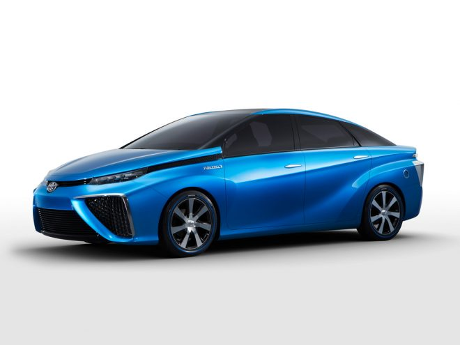 Toyota Fuel Cell Vehicle Concept