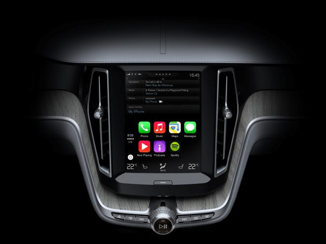Apple CarPlay Volvo XC90