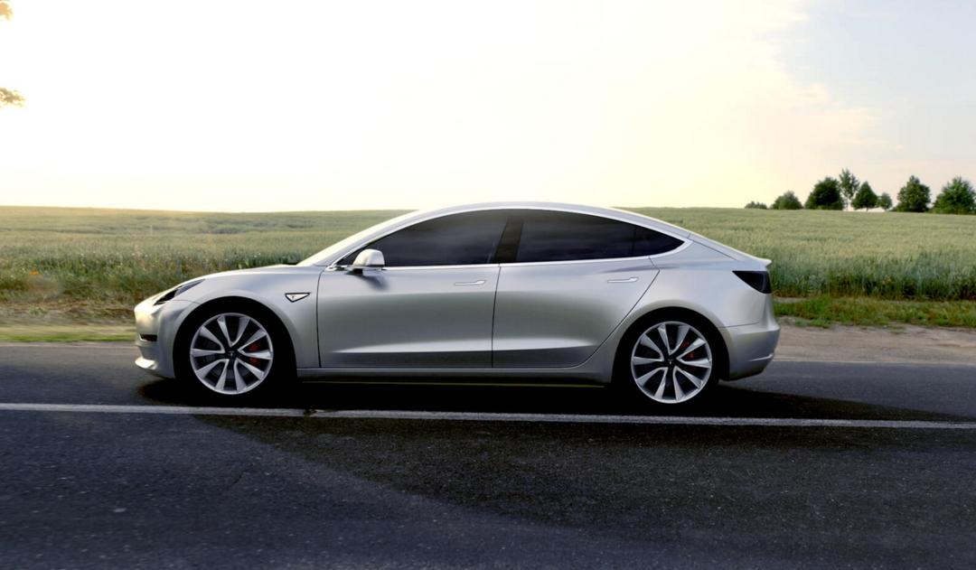 Tesla Model 3 - The Intelligent Driver