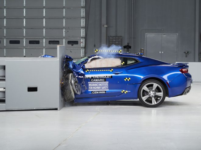 2016 Camaro Crash Test