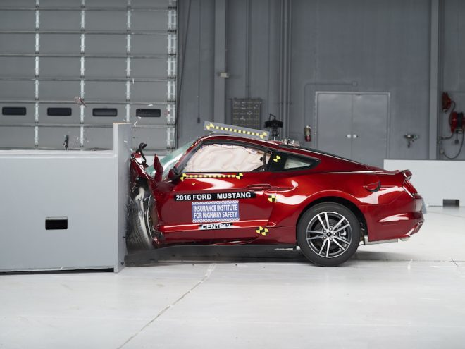 2016 Mustang Crash Test