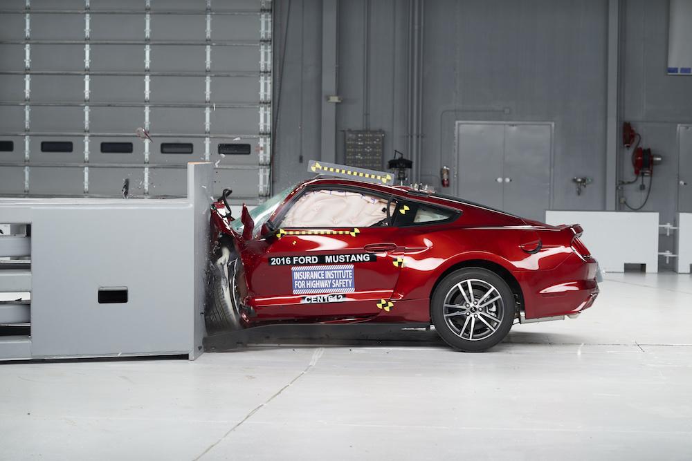 2016 Mustang Crash Test