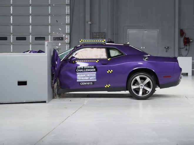 2016 Challenger Crash Test