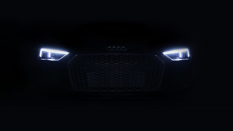 Audi R8 V10 Laser Headlights