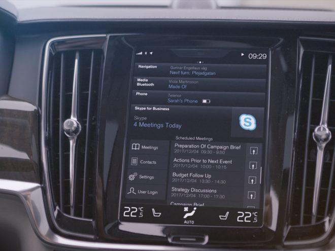 Skype for Business Volvo