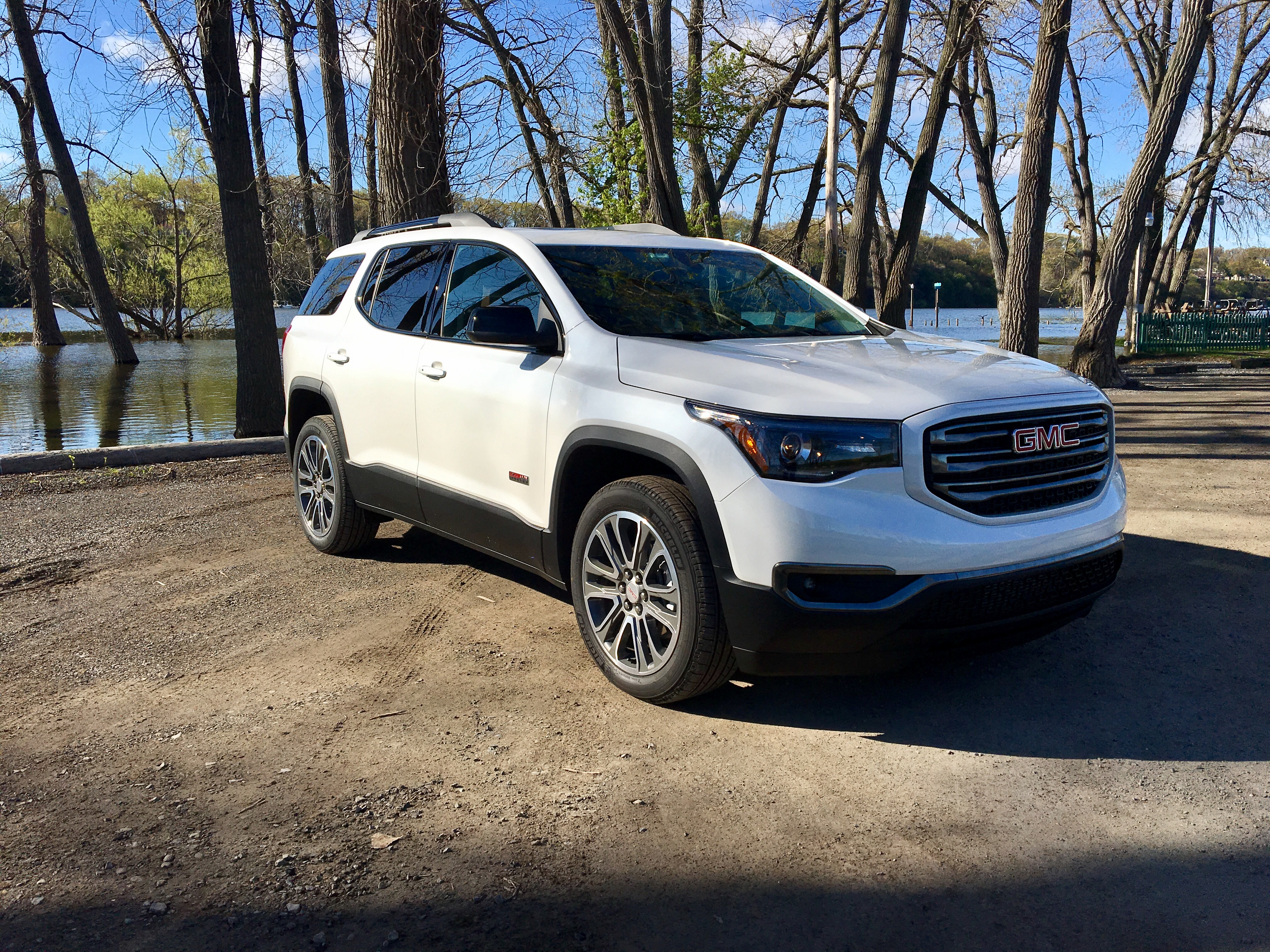 gmc start acadia watch reviews up youtube review and tour awd