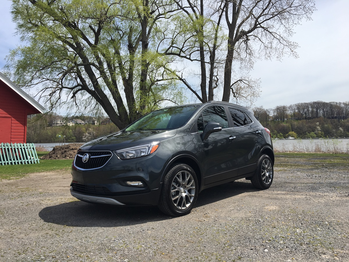 2017 buick encore sport touring first test review the autos post. Black Bedroom Furniture Sets. Home Design Ideas