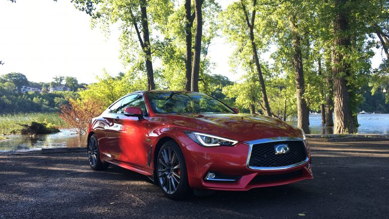 road test 2017 infiniti q60 red sport 400 the intelligent driver. Black Bedroom Furniture Sets. Home Design Ideas