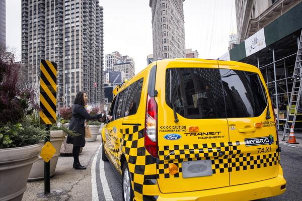 Ford Transit Hybrid Taxi