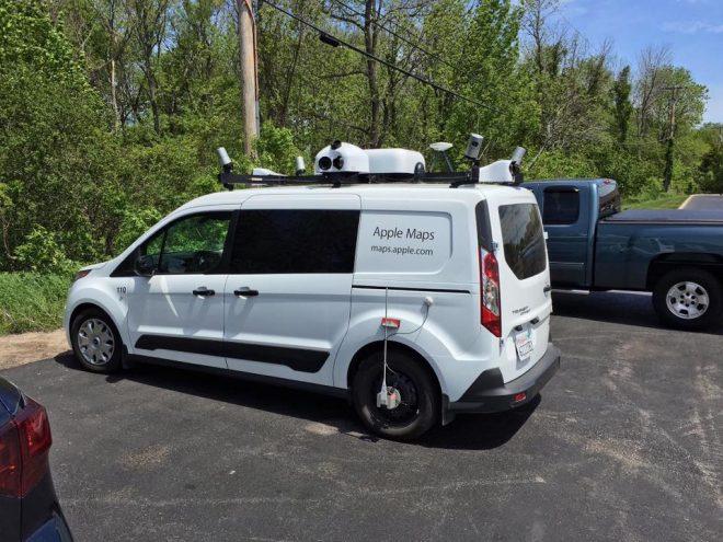 Apple Maps Vehicle