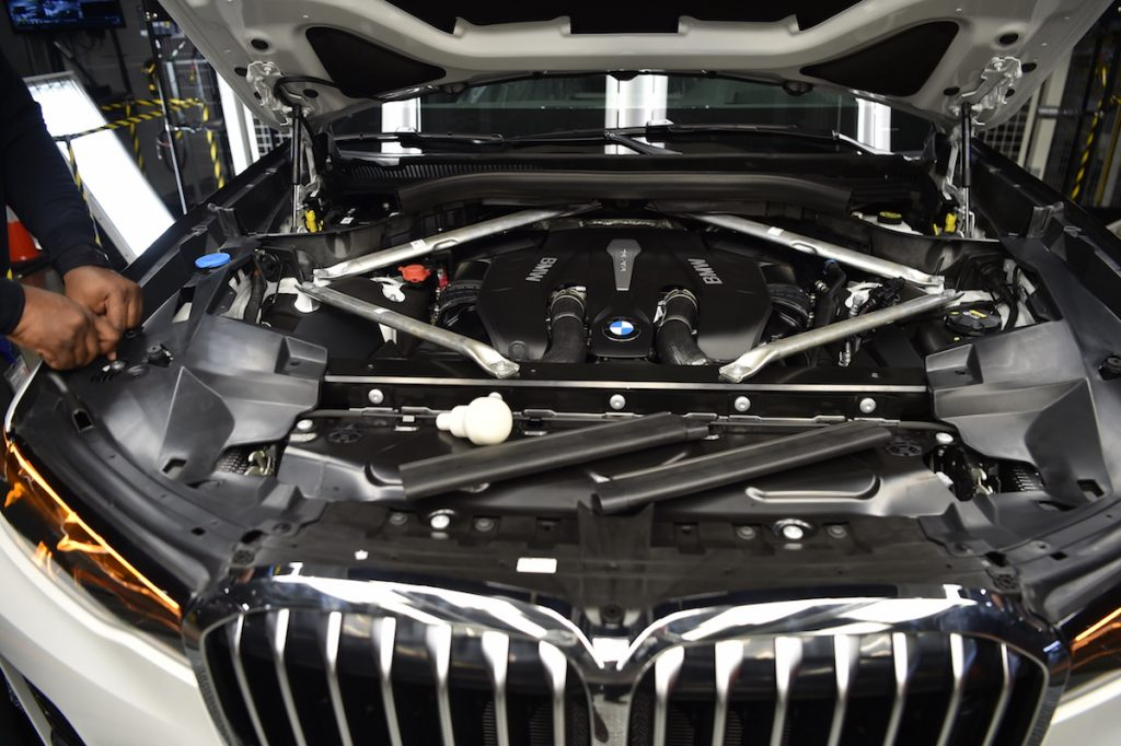 2019 Bmw X7 Pre Production Rolls Off Spartanburg Sc