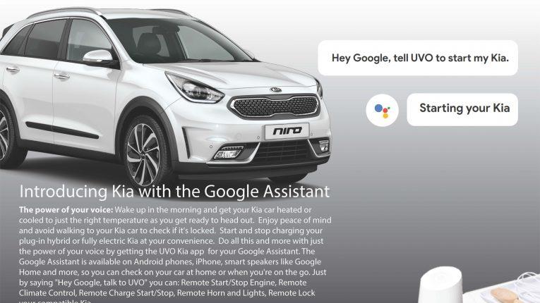 Kia Google Assistant