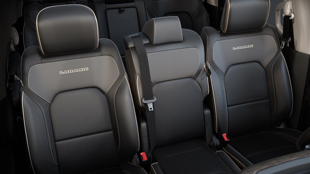 2019 Ram 1500 Laramie Front Bench Seat Configuration