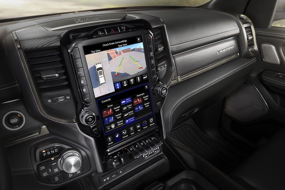 2019 Ram 1500 – Uconnect 4C with 12-inch Screen - The ...