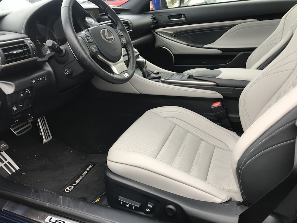 2017 Lexus RC350 F-Sport