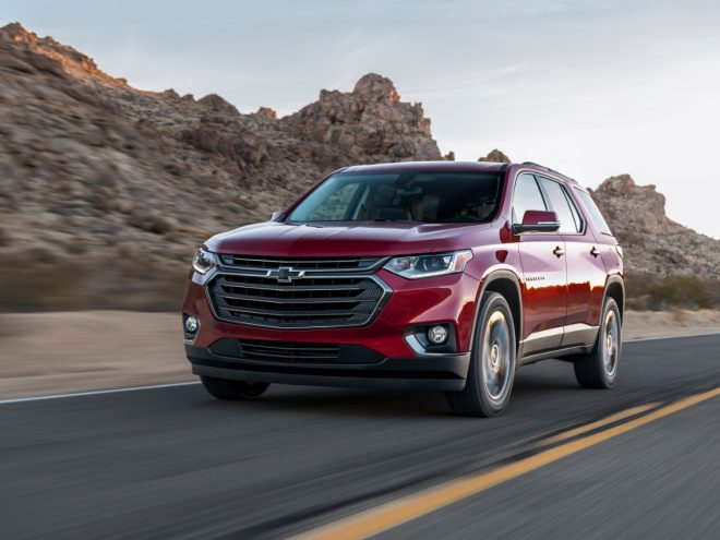2018 Traverse RS