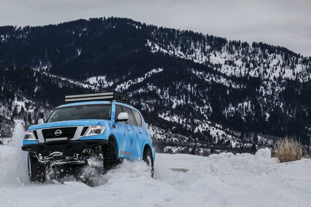 Nissan Armada Snow Patrol