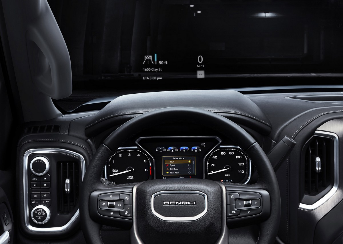 2019 GMC Sierra Denali Head-up display - The Intelligent ...