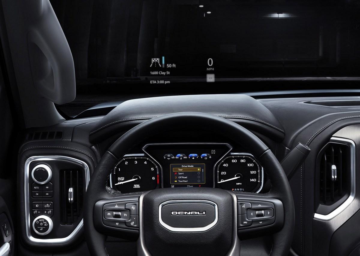 2019 GMC Sierra Denali Head-up display - The Intelligent ...