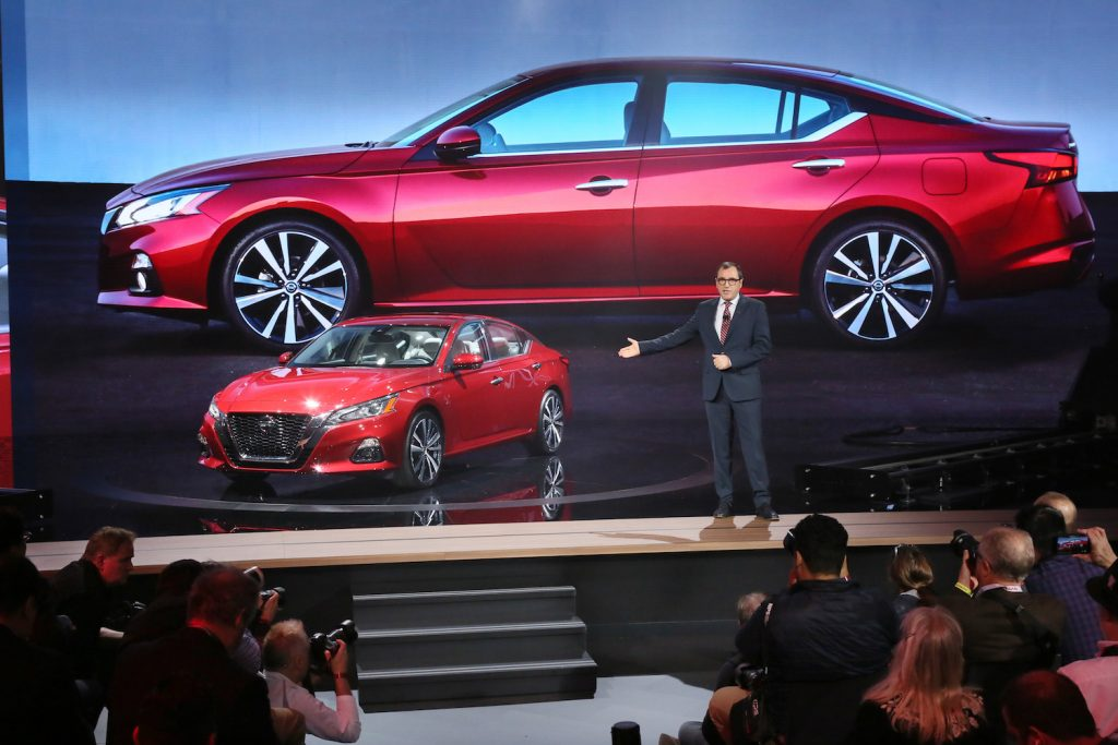NY Auto Show: 2019 Nissan Altima Offers AWD, ProPILOT ...