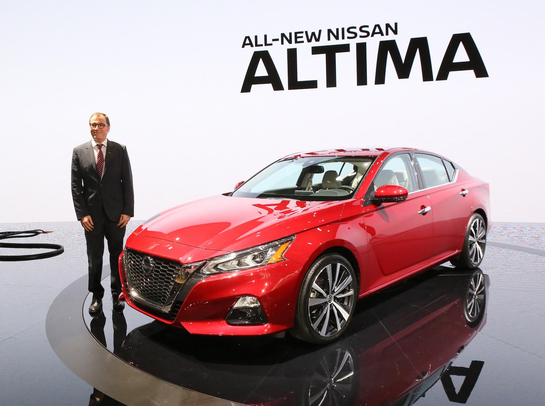 NY Auto Show: 2019 Nissan Altima Offers AWD, ProPILOT ...