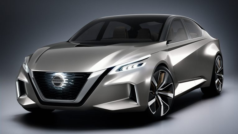 2019 Nissan Altima Sketch Revealed, Debut at 2018 New York Auto Show ...