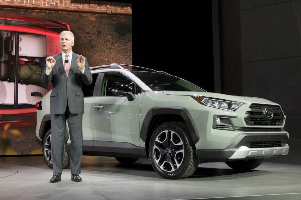 Ny Auto Show 2019 Toyota Rav4 Reimagined Loaded With