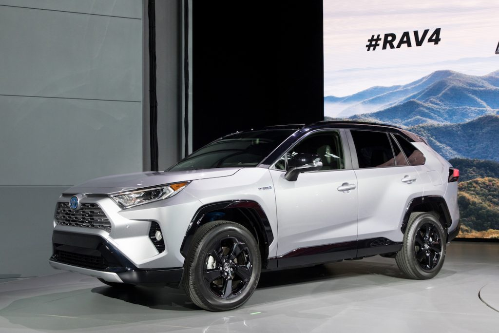 Ny Auto Show 2019 Toyota Rav4 Reimagined Loaded With