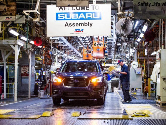 2019 Subaru Ascent Indiana