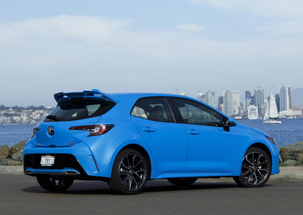 2019 Toyota Corolla Hatchback Offers Premium Tech, Style ...