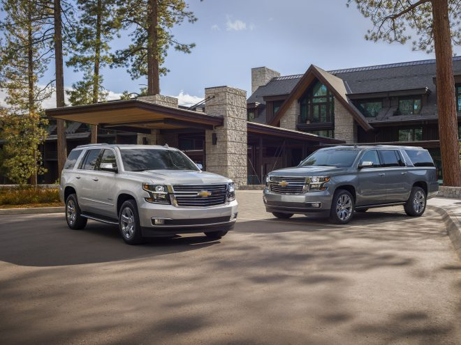 2019 Chevrolet Tahoe and Suburban Premier Plus Special Editions
