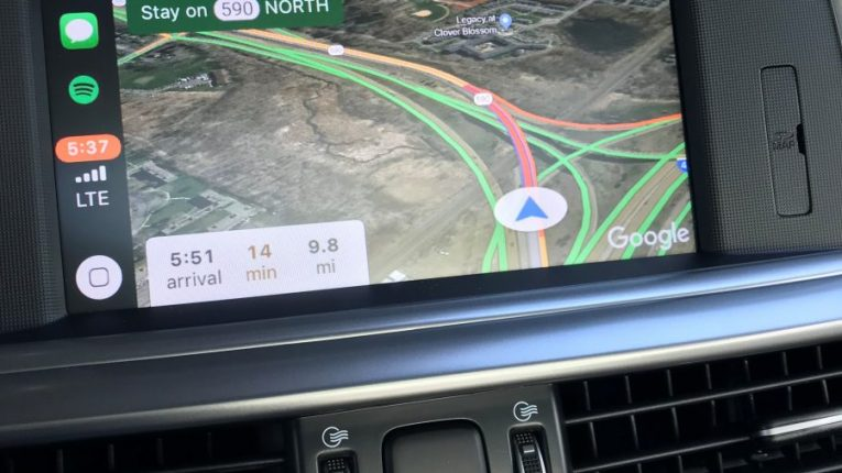 Google Maps on Apple CarPlay with iOS 12 - The Intelligent ... on google map marseille, land navigation, google places, openstreetmap navigation, google navigation app, phone navigation, google search navigation, google india map, google map manitoba canada, google map of alberta, google map texas a&m, google map pin, google search mapquest, here navigation, google now traffic, google earth, gps navigation, google satellite map, google quick search box, google map example,