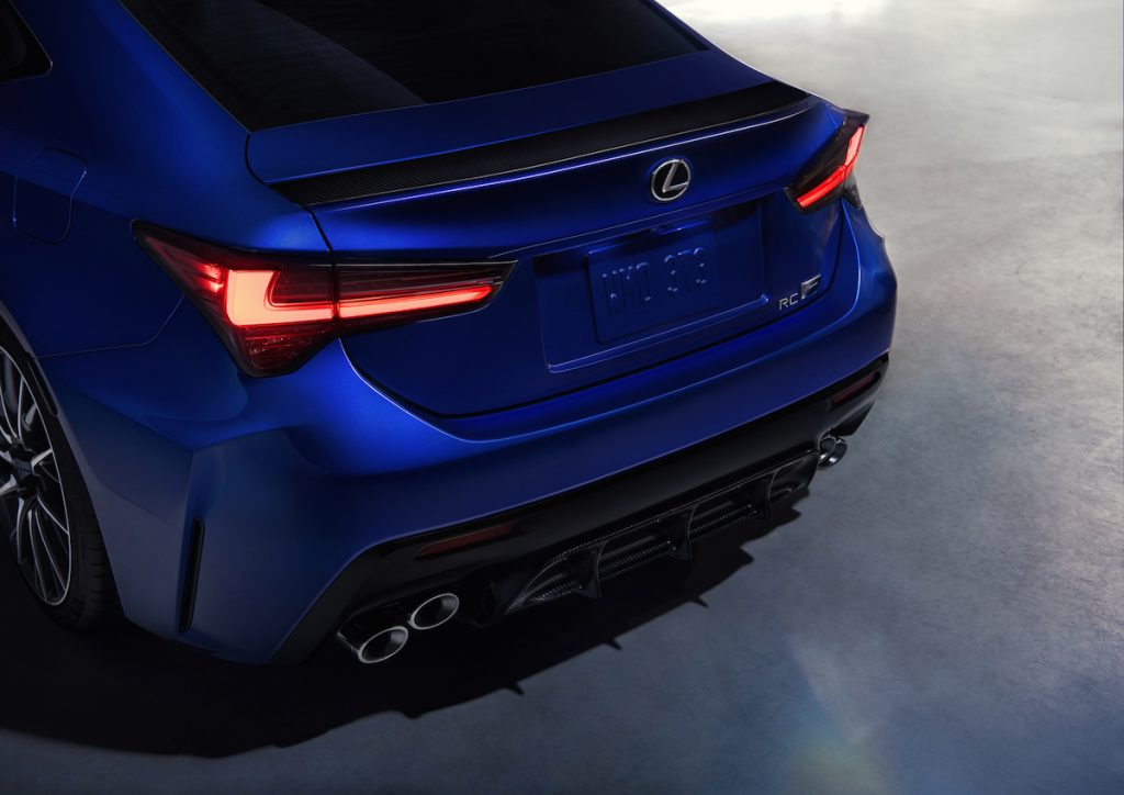 2020 Lexus RC F and RC F Track Edition Debut in Detroit - The Intelligent Driver