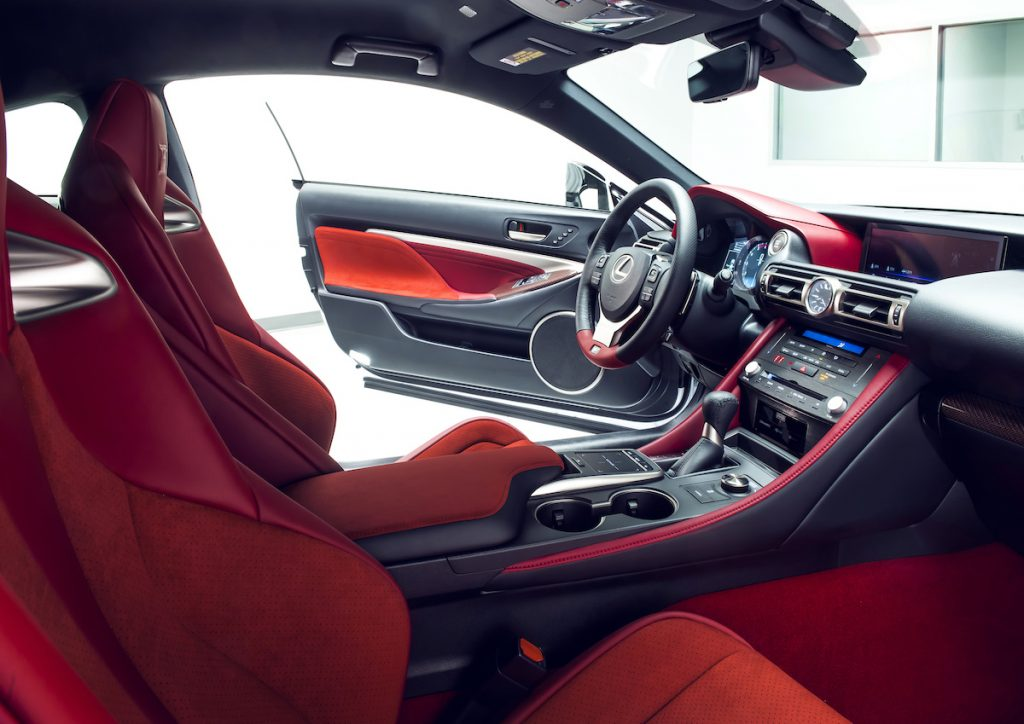 2020 Lexus RC F and RC F Track Edition Debut in Detroit ...