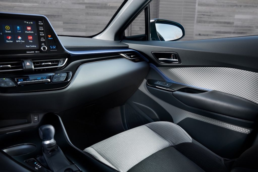 2019_Toyota_CHR Interior