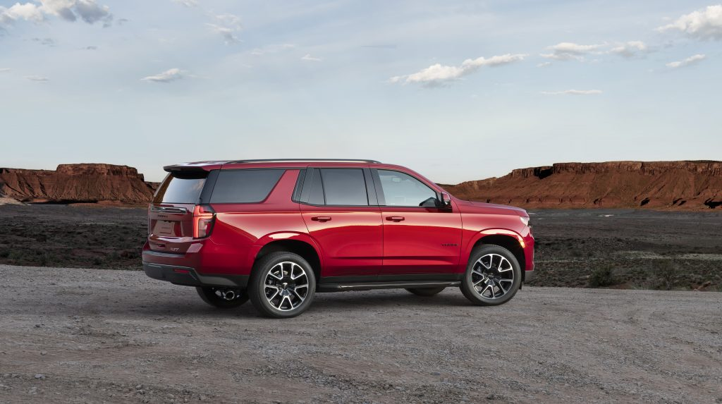 2021 Chevy Tahoe and Suburban Arrive Summer 2020 - The ...