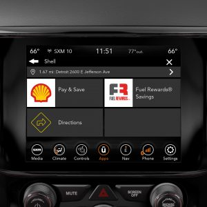 Shell Grand Cherokee Uconnect