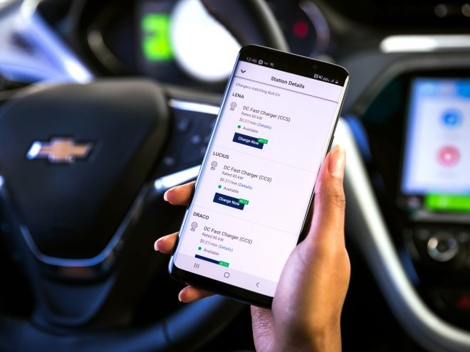 Chevrolet Bolt Energy Assist App