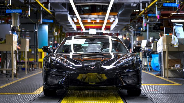 2020 Corvette Production