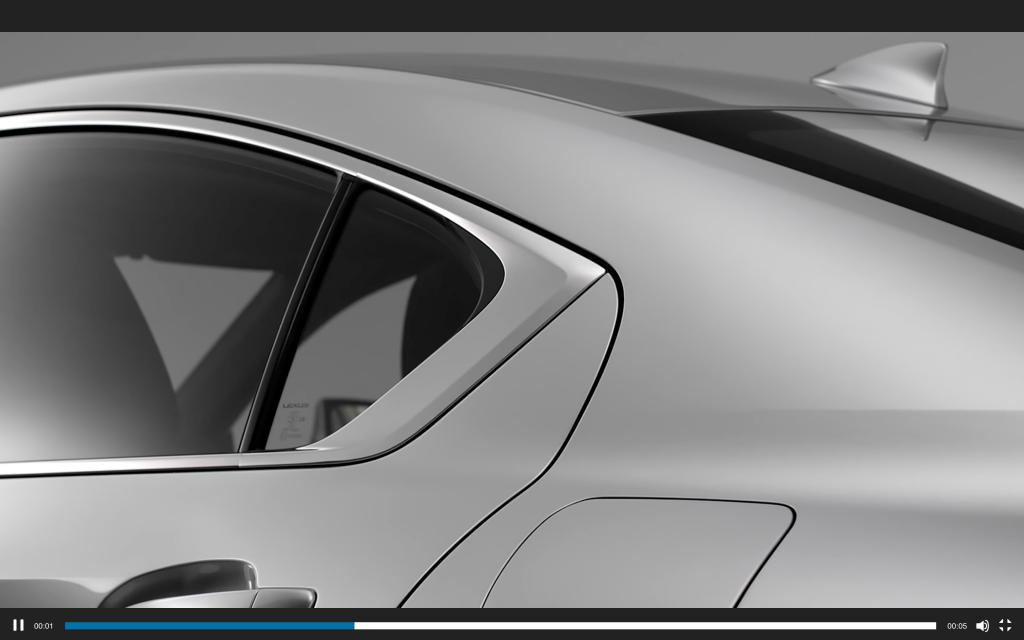 2021 Lexus IS 350 Rear Quarter