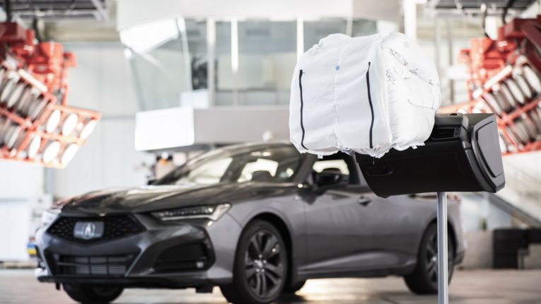 2021 TLX Airbag