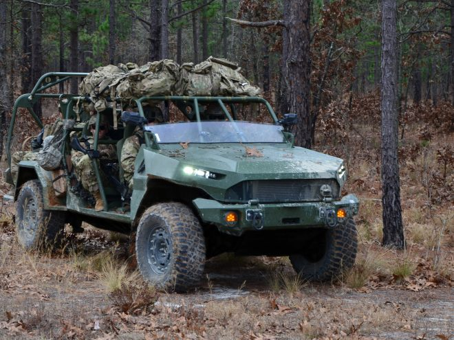 GM Defense Infantry Squad Vehicle